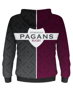 Pagans Sublimated Micro Fleece Hoodie with 3M Water Repellent Technology