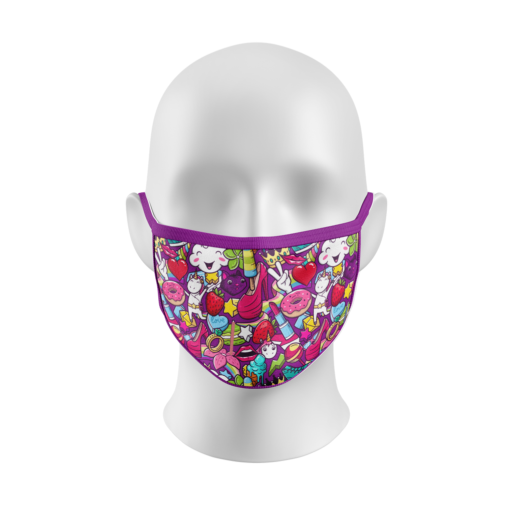 """Cute Patootie"" Kourtesy Mask (Kids)"