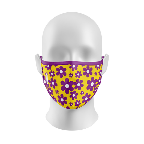 """Dark Heather"" Basics Kourtesy Mask"