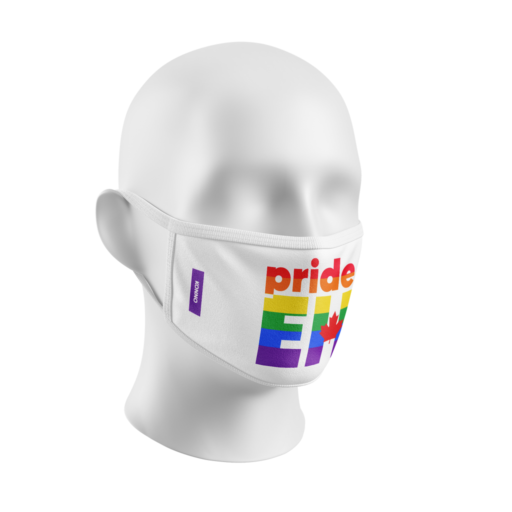 """Pride Eh"" Kourtesy Mask"