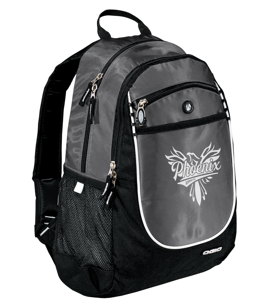 Richmond Hill Phoenix Carbon Backpack- Grey 1