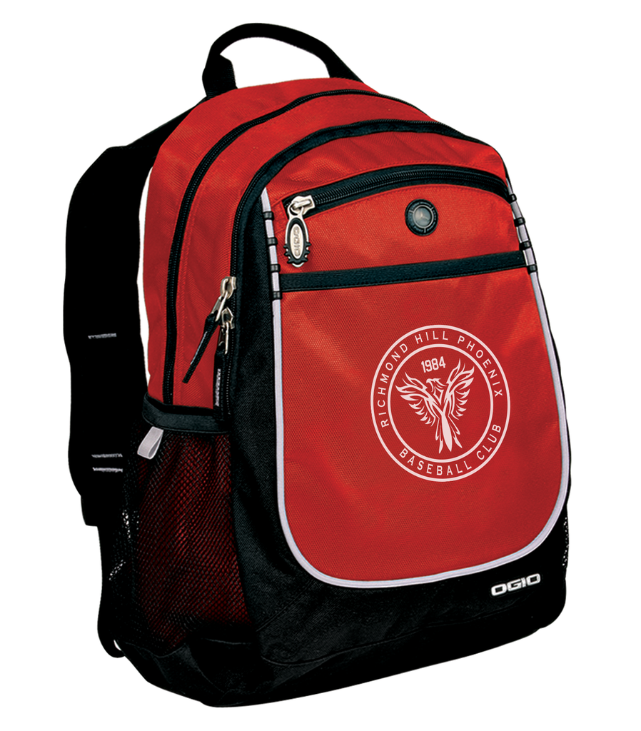 Richmond Hill Phoenix Carbon Backpack- Red Authentic