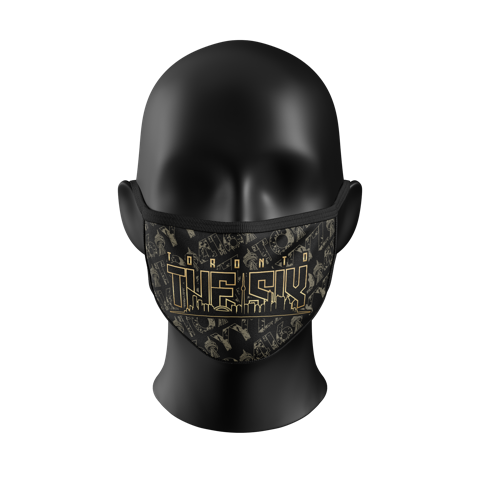 """The 6"" Gold City Kourtesy Mask"