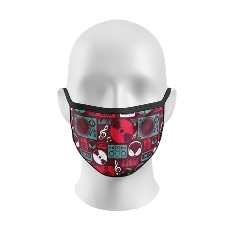 """Invader"" Kourtesy Mask"