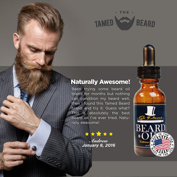 St. Pierre's Beard Oil - Variety Pack (3) - 1oz