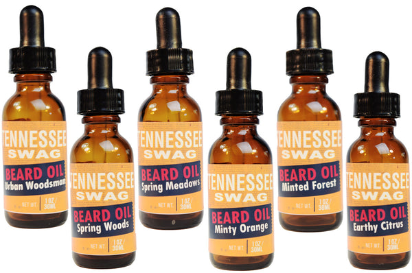 Tennessee Swag Beard Oil – Variety Packs (6) - 1oz