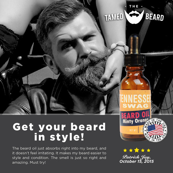 Tennessee Swag Beard Oil – Variety Packs (3) - 1oz