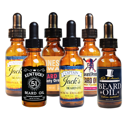 Beard Oil Variety Pack (6) - 1oz