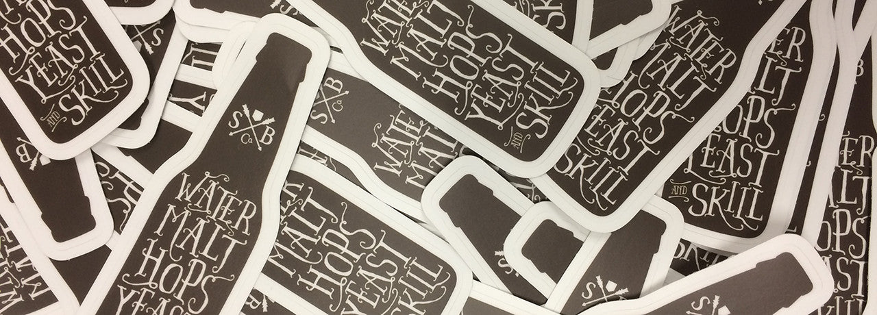 Sanctum Die Cut Stickers