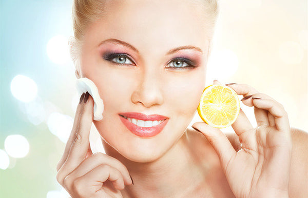 lemons for skin brightening