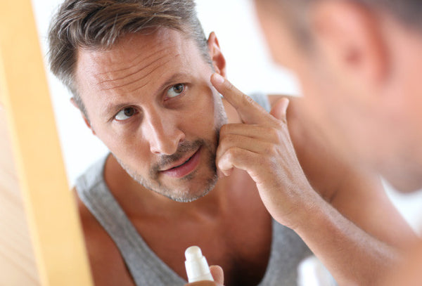 mens anti-aging routine