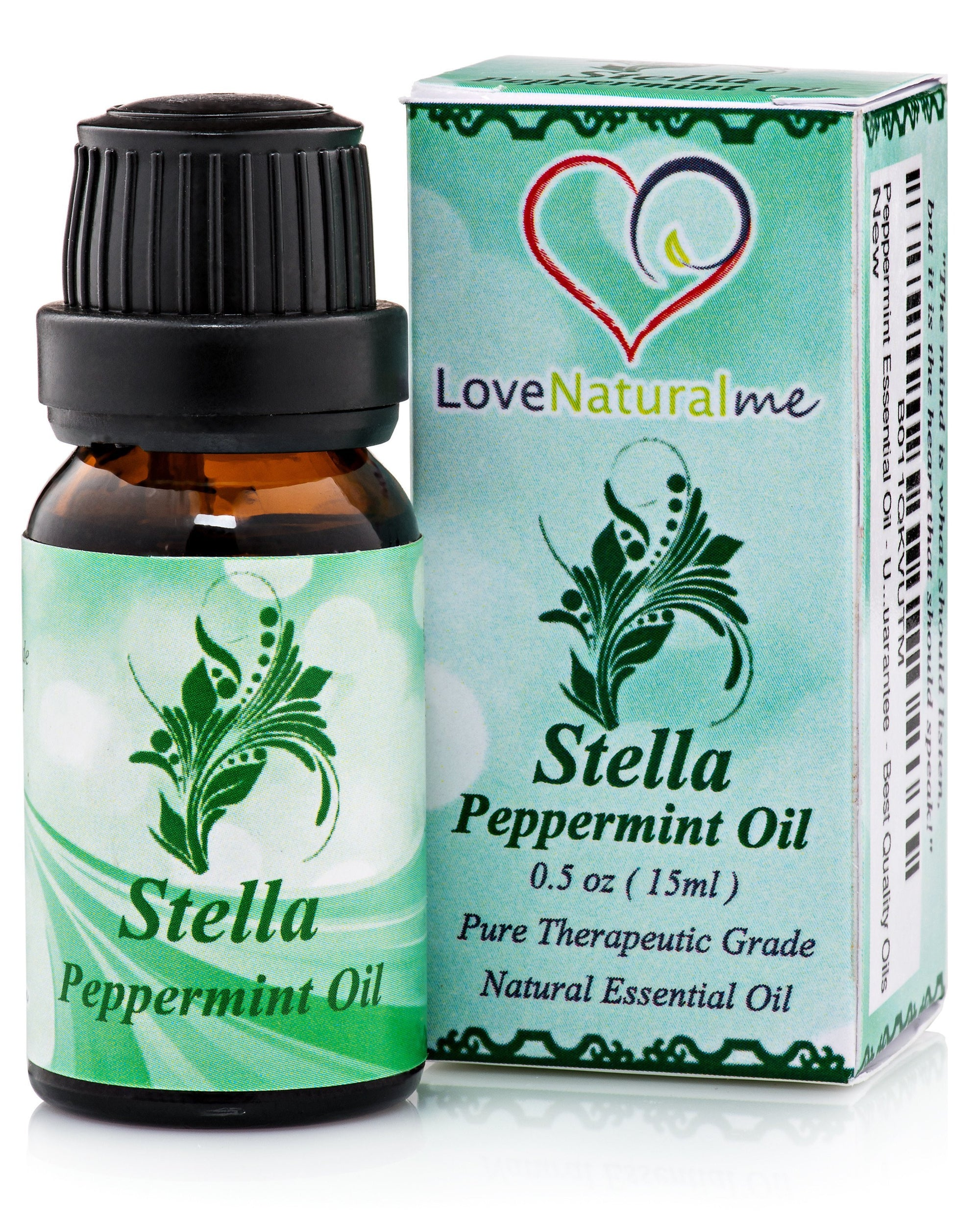 Swiss Botany essential oils LoveNaturalMe GC-MS Therapeutic Peppermint Oil