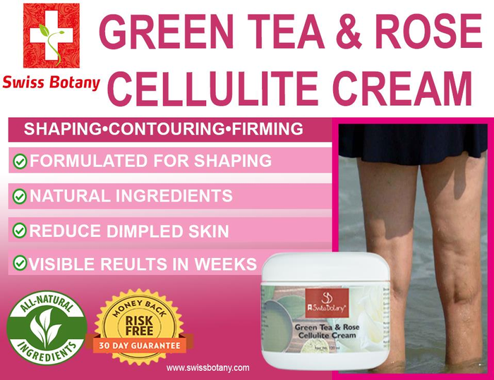 swissbotany Green Tea & Rose Cellulite Cream