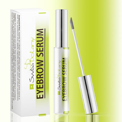 swissbotany Health and Beauty EyeBrow Growth Serum for Women & Men Premium Biotin Eyebrow Enhancing Serum for Eyebrow Growth cruelty free eyebrow growth serum