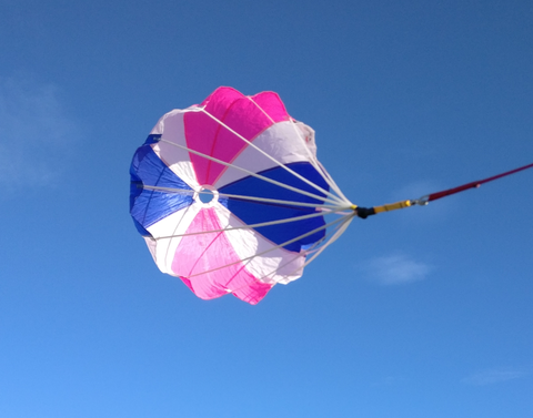 BlackCatChutes 24 Inch High Power Parachute