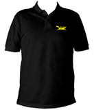 Black Cat Polo Shirt - Black Cat Rocketry