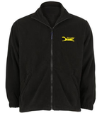 Black Cat Fleece Jacket - Black Cat Rocketry