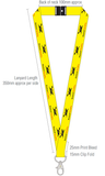 Black Cat Rocketry Lanyard - Black Cat Rocketry