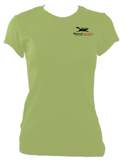 Black Cat Womens T-Shirt - Black Cat Rocketry