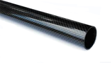 65mm Carbon Fibre Airframe Tube - Black Cat Rocketry