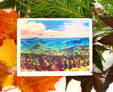 """Vermont Summer"" Art Card"