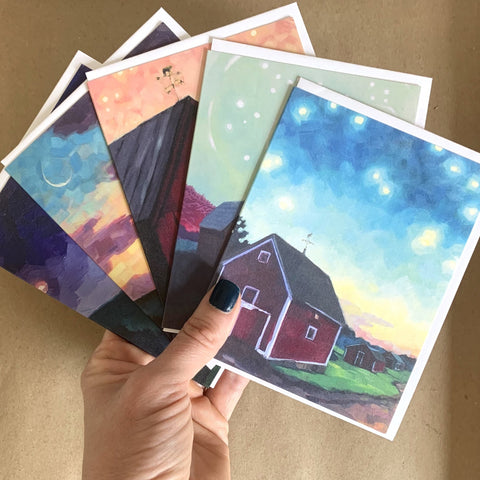 """Barn Magic"" Art Card Set"