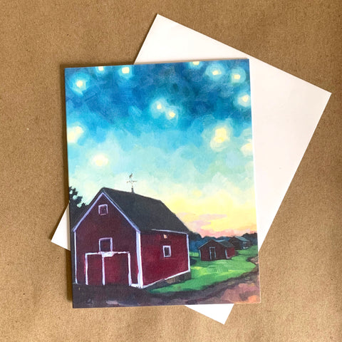"""The Light When We Gather"" Art Card"