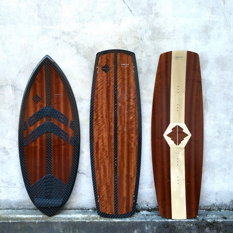Custom Wake • Carbon x Acajou