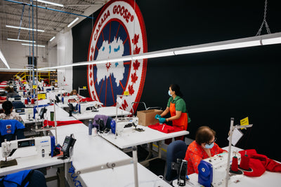 Canada Goose's Response to COVID-19: 2.2 Million Scrubs and Gowns