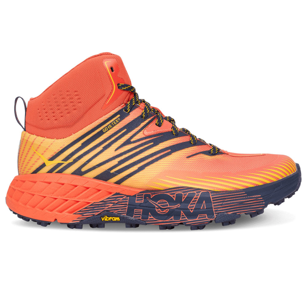Speedgoat Mid 2 Gore-Tex 'Mandarin Red / Gold Fusion'