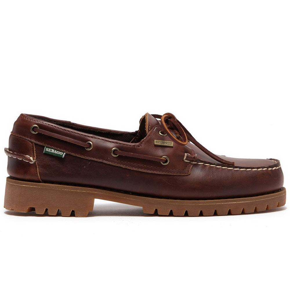 Ranger Waxy Waterproof Loafer 'Brown Gum'