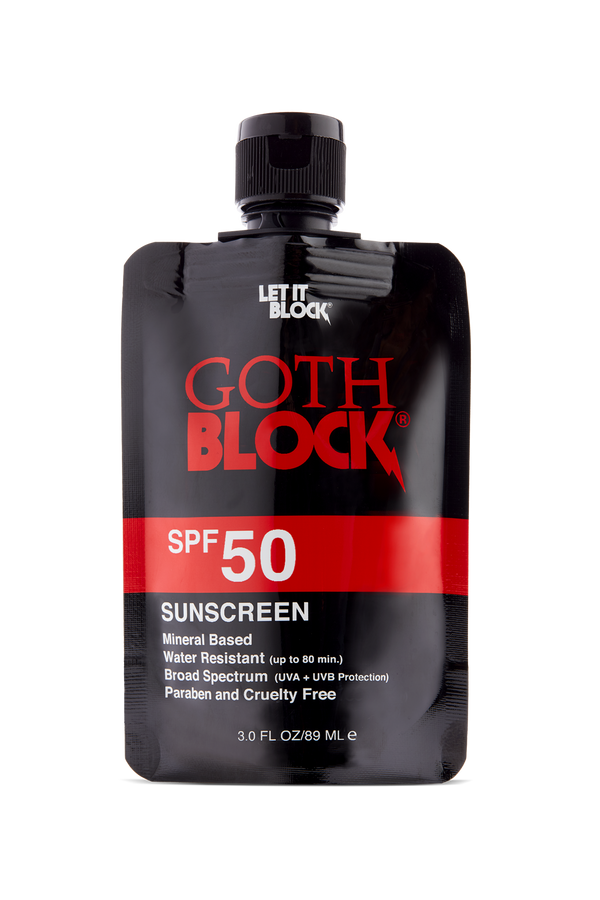 Goth Block SPF 50 Sunscreen