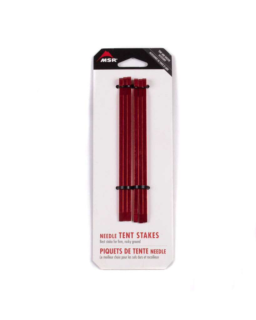 Msr Needle Tent Stakes Kit Red