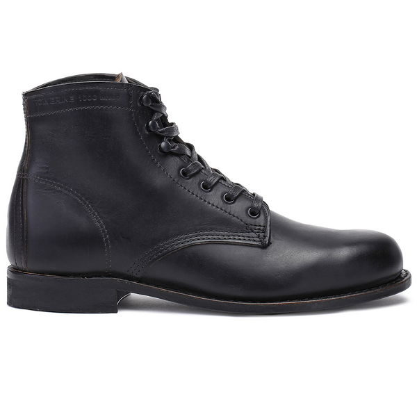 1000 Mile Boot 'Black Leather'