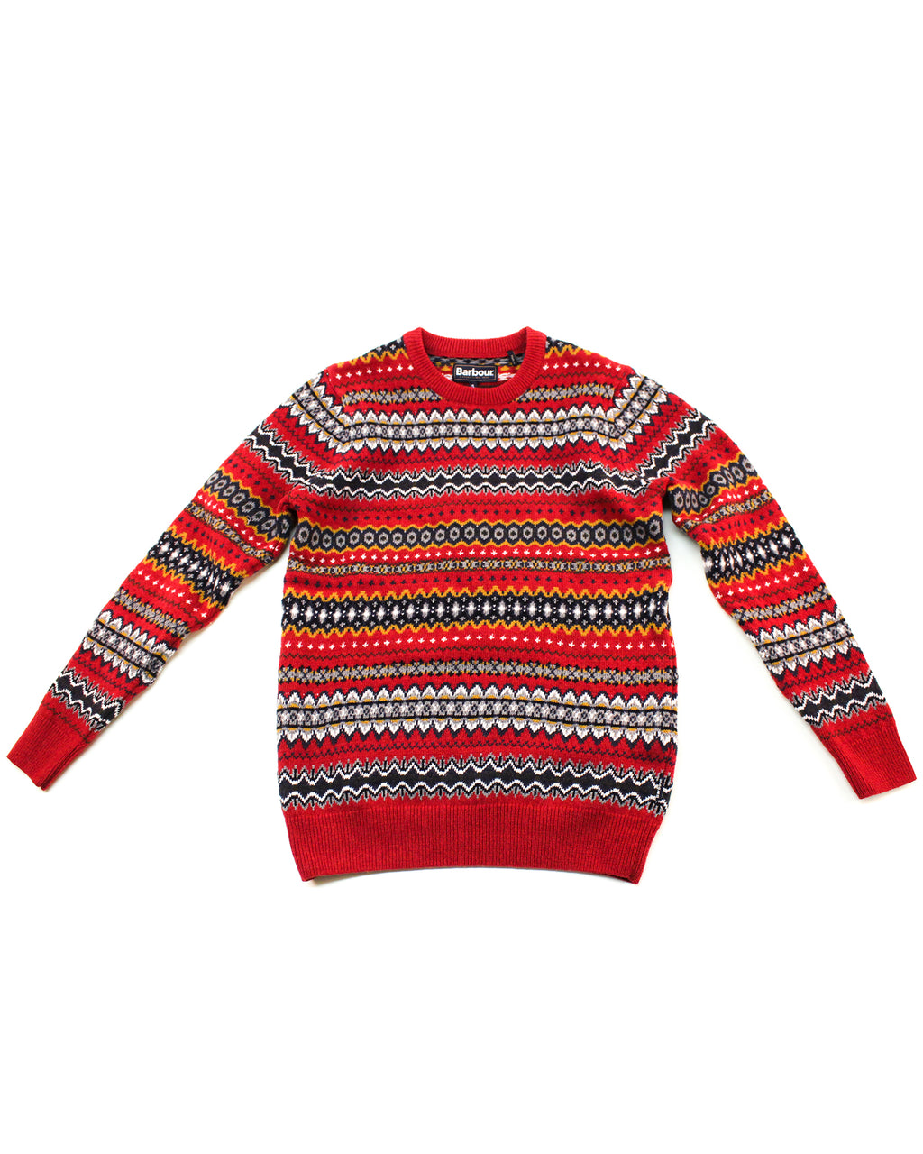 Case Fairisle Crew Neck Jumper