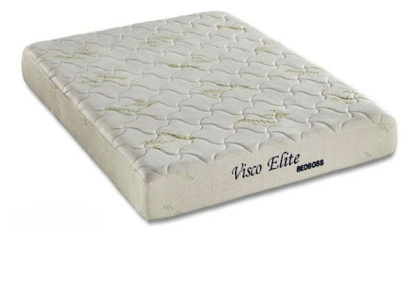 bed boss 8inch visco elite cool memory foam mattress medium firm comfort