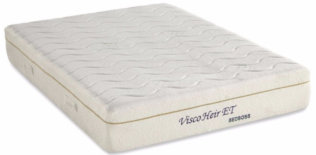 bed boss 11inch visco heir et cool memory foam mattress medium firm comfort