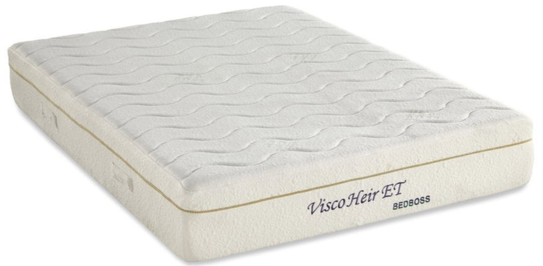 Bed Boss Heir ET 11 inch Memory Foam Mattresswith EuroTop Design - Free shipping
