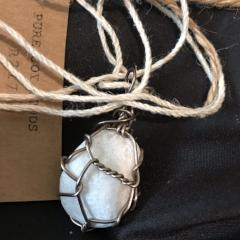 R217 Wire wrapped stone #6.16.7