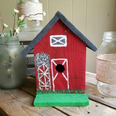 Barn Bird House