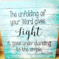 Your Word Gives Light