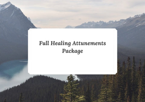 Full Healing Attunement Package