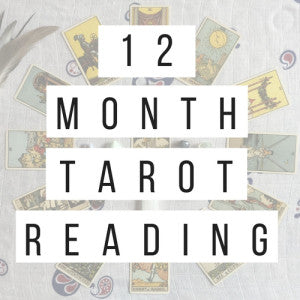 Get a 12 month tarot reading with Kyle Harding Clairvoyant
