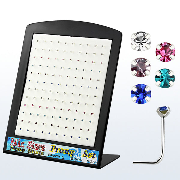 Nose Studs - 120 Piece Display