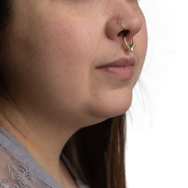 Nose Hoops - Gold Plated