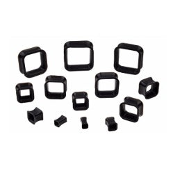 Tunnels / Plugs - Silicone Square Tunnels