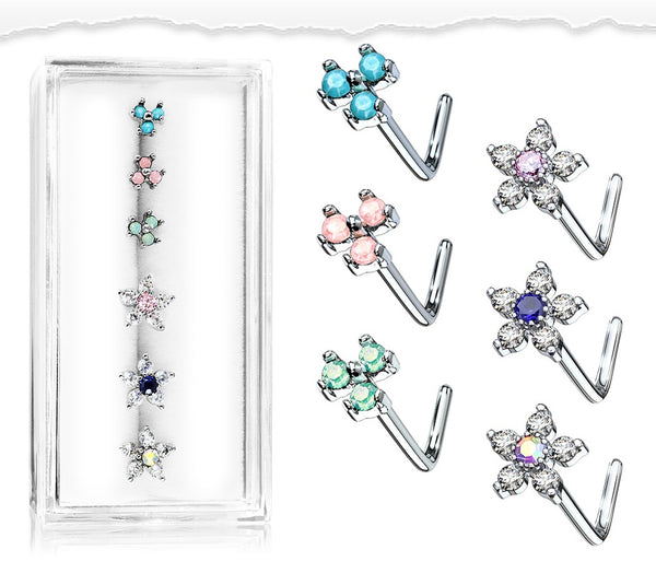 Nose Studs - Pack of 6 (C)