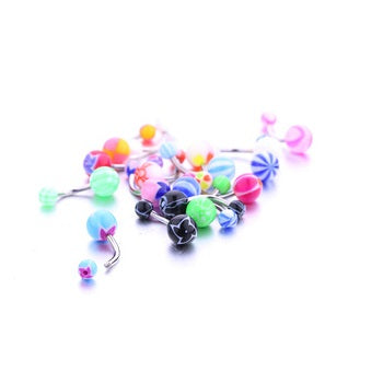 Belly Ring  - 20 Assorted Non-Dangly