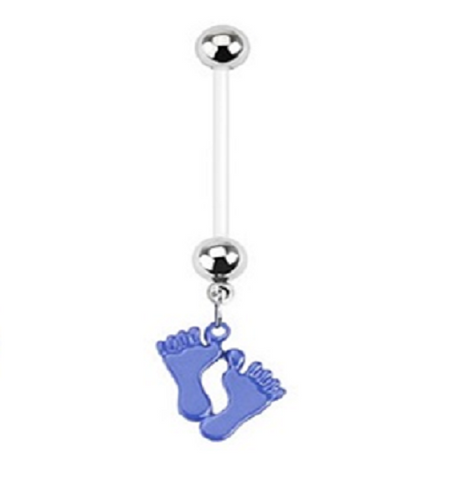 Belly Ring - Pregnancy Baby Feet