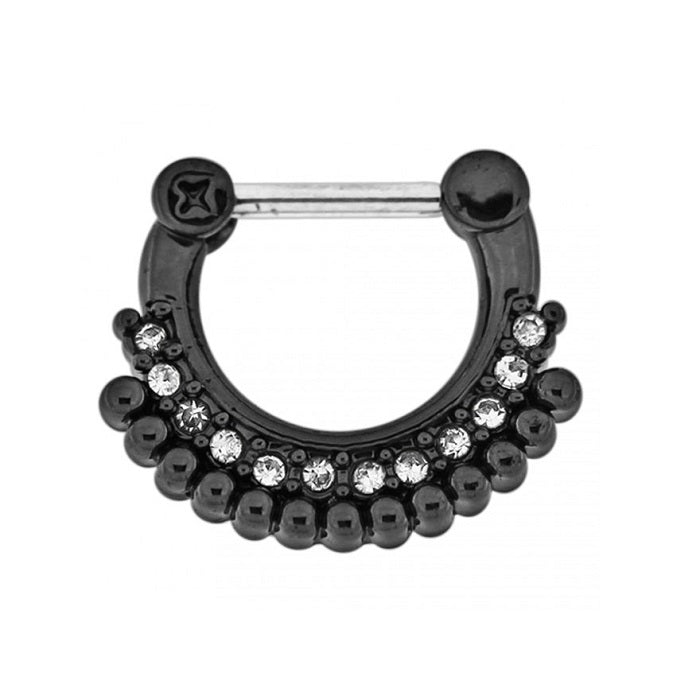 Septum Clicker - Blackline Tribal Dots